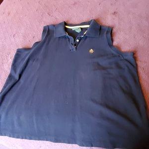Lauren sleeveless polo shirt